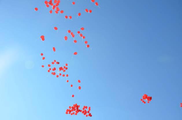 Dieses Jahr sollen am Schlierefäscht Bio-Ballone durch die Luft fliegen.