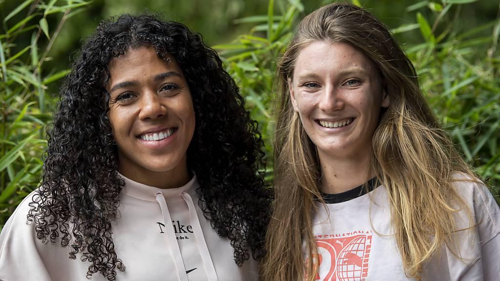 Kambundji und Del Ponte primär als Freundinnen auf der Bahn