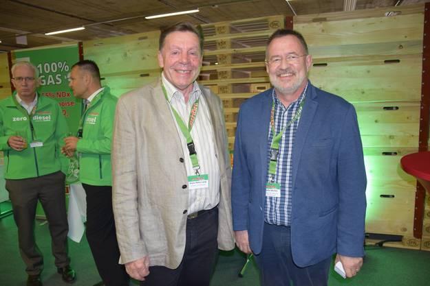 Hans Peter Lang und Martin Werfeli sind mit dem Unternehmen verbunden.