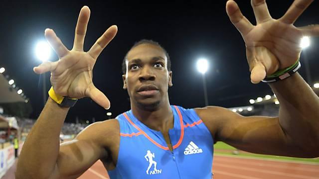 Yohan Blake gewann 100-m-Rennen in 9,69