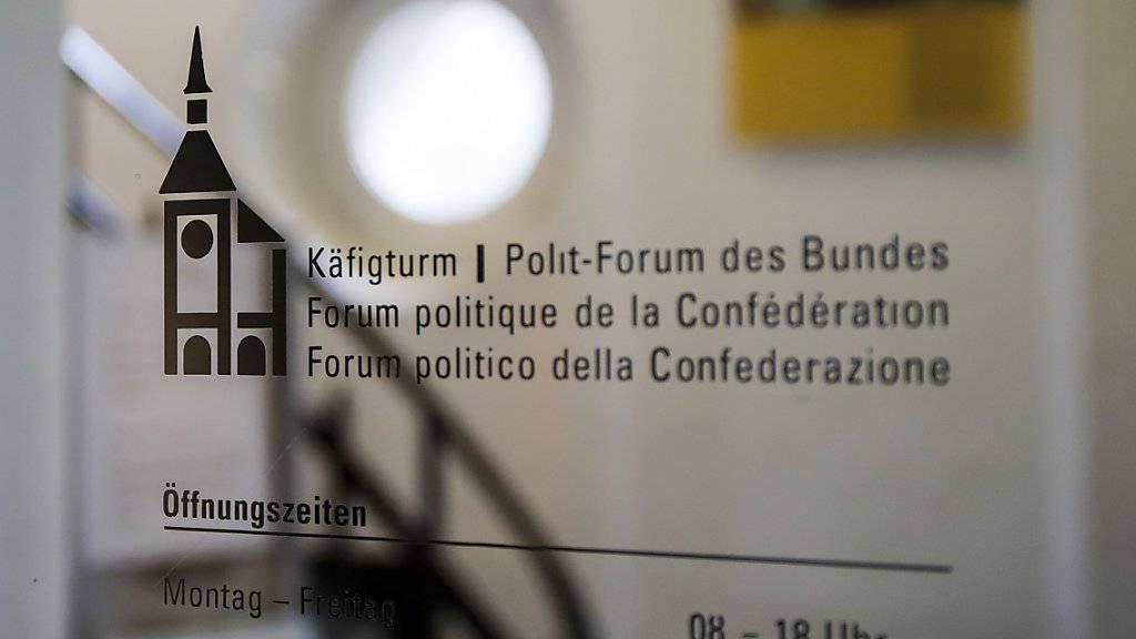 Der Ständerat will die Subventionen für das Politforum Käfigturm in Bern per Ende 2017 streichen. (Archivbild)
