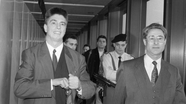 Hans Bühler (links) soll Schweigegeld erhalten haben.