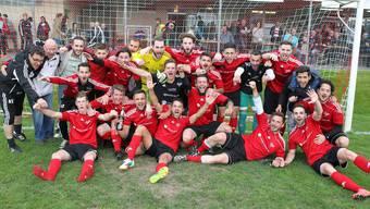 Neuer Aargauer Meister: Der FC Rothrist beschliesst sein Programm mit einem Heimspiel gegen Menzo Reinach.