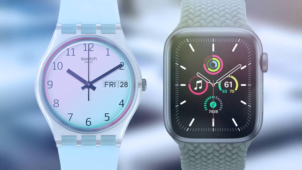 Schweizer Uhrenindustrie / Aktienboom
