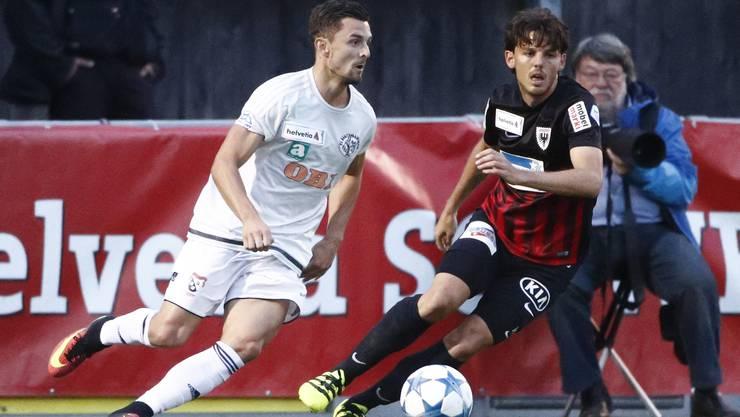 Breitenrains Nuno Felipe da Silva wechselt wohl zum FC Aarau.