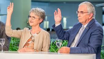 Die ehemaligen Ständeratskandidaten Maya Bally (BDP) und Roland Frauchiger (EVP) treten nicht für den zweiten Wahlgang an.