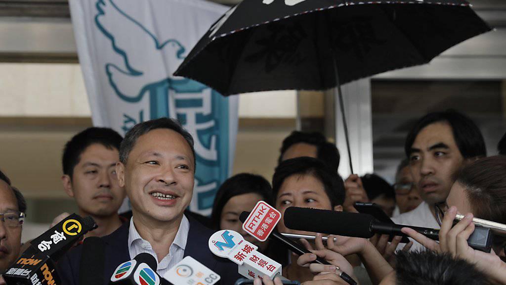 Hongkong lässt Protest-Anführer von 2014 frei - Neue Demos geplant