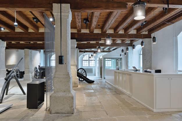 Ebenso wie das neue Pfarreizentrum erhielt der Umbau und die Innensanierung des Museums Altes Zeughaus Solothurndie «Priisnagel»-Auszeichnung.