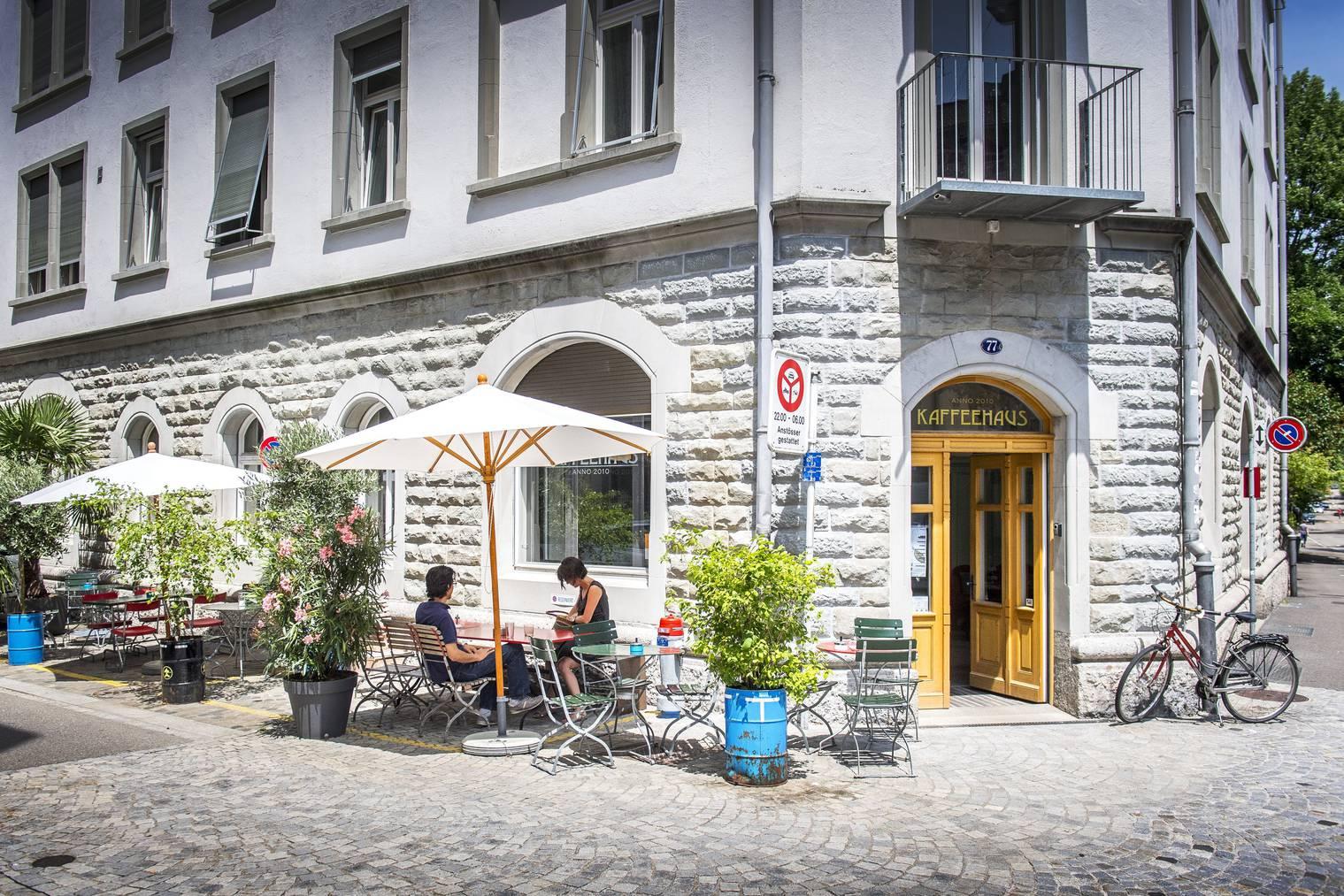 Das Kaffeehaus im Linsebühl hat seine eigene Röstmanufaktur. (Bild: Urs Bucher/Tagblatt)