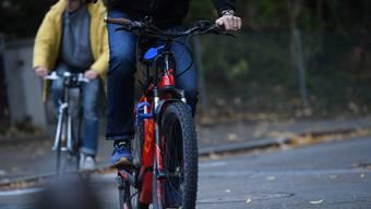 Die Binninger Amerikanerstrasse ist eine stark befahrene Veloroute durchs Quartier – hier kam es bereits zu Klagen über E-Bikes.