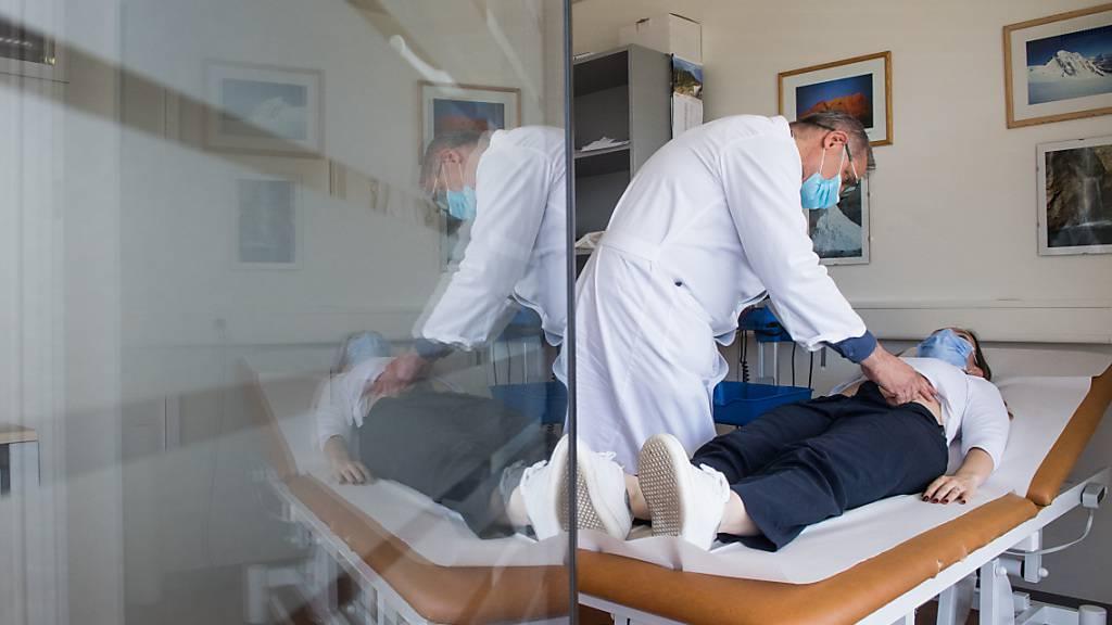 Das Bundesamt für Gesundheit meldete am Donnerstag keine neuen Spitaleintritte. (Archivbild)