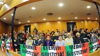 Eröffnung des Asbest-Berufungsprozesses in Turin im Februar