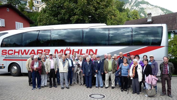 Die Zuzger Senioren genossen den Tagesausflug