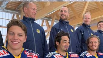 Lässt sich im August im Sportzentrum Zuchwil blicken: Der HC Davos.