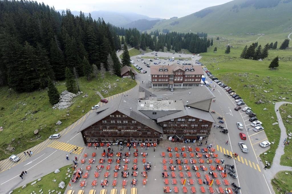 Das ehrwürdige Berghotel Schwägalp