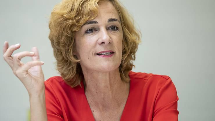 Sie hat genug: die Berner SP-Gemeinderätin Ursula Wyss will 2020 nicht mehr zur Wiederwahl antreten.