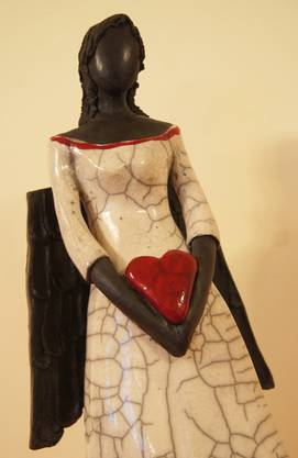 Skulptur von Claudia Wolf.