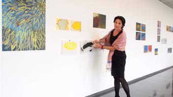 Anita Mendler, Mireille Gros und Christian Kuntner im Kunstmuseum Olten