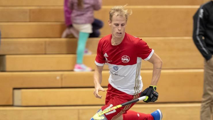 An der heute startenden und bis Sonntag dauernden Hallen-EM will der Landhockeyspieler Marco Michel mit der Schweizer Nati überzeugen.