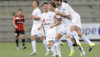 Der FC Wohlen kann gegen Winterthur jubeln.