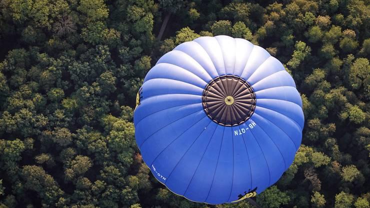 Ballonfahrt über Basel 16.08.2020S