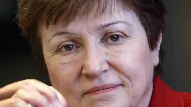 Nach dem Willen der Europäer soll die  Bulgarin Kristalina Georgiewa Chefin des Internationalen Währungsfonds werden. Sie führt derzeit die Geschäfte der Weltbank. (Archivbild)