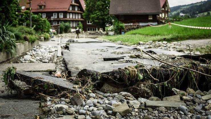 Naturkatastrophen verursachen Schäden in Millionenhöhe. (Symbolbild)