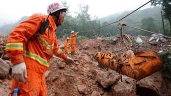 Folgenschwere Überschwemmungen und Erdrutsche in China