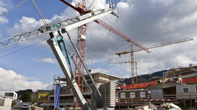 Baustelle in im Kanton Schwyz (Symbolbild)