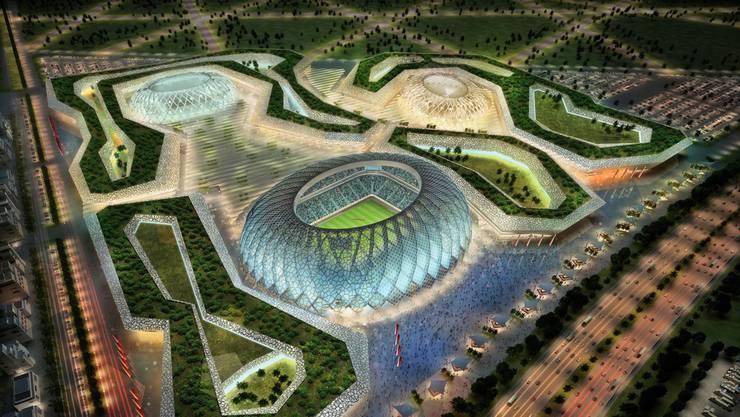 Perfekt gekühlte Stadien in Katar: Doch wie sieht es mit der Perfektion bei den Schiedsrichtern und den Funktionären aus?