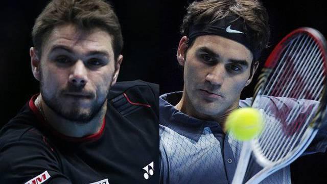 Ein Final zwischen Federer und Wawrinka wäre «ein Traum», so Roger Federer.