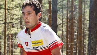 Matthias Merz lief in Finnland auf den sechsten Rang. Keystone