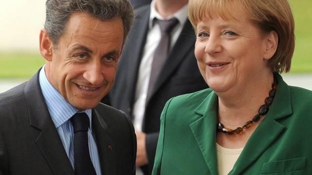 Entscheidungsträger: Frankreichs Präsident Nicolas Sarkozy und die deutsche Bundeskanzlerin Angela Merkel (Archiv)
