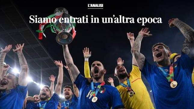 «Wir sind in eine andere Ära eingetreten», schreibt der Corriere della Sera in einer Spielanalyse.