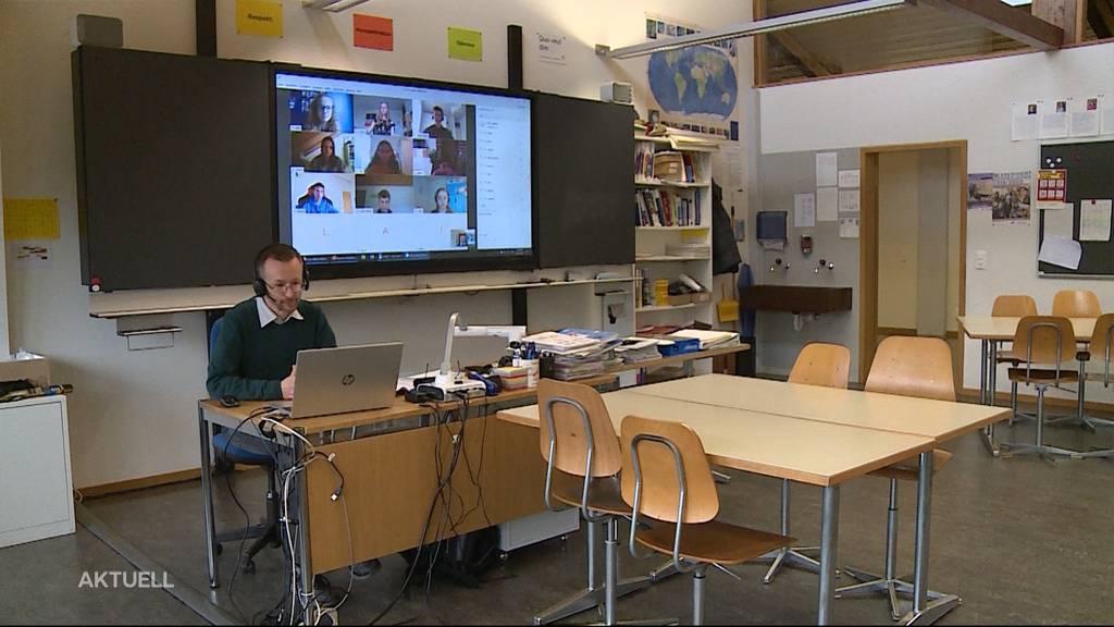 So geht es weiter mit dem Schulunterricht im Aargau