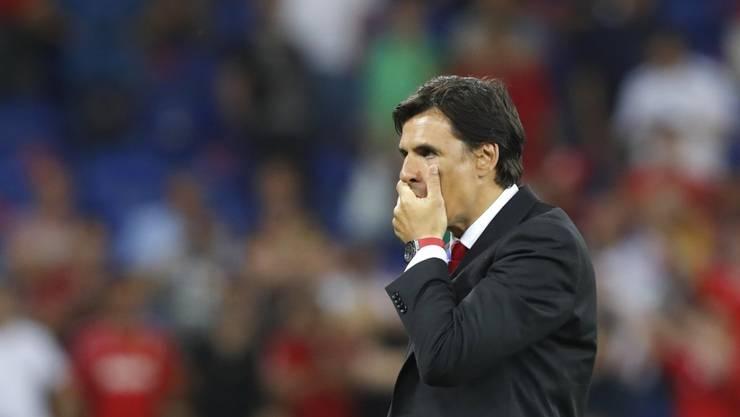 Steigt mit Sunderland in die League One ab: Trainer Chris Coleman