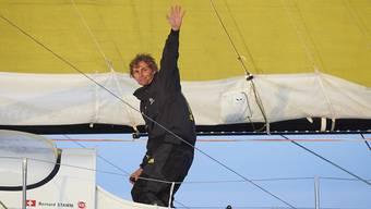 Bernard Stamm triumphiert am Barcelona World Race.