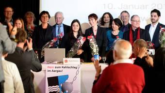 Die SP Aargau nominiert ihre Kandidaten für die eidgenössischen Wahlen.