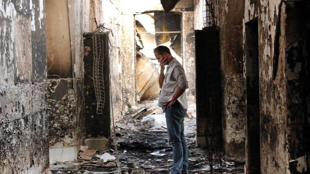 Laut Ärtze ohne Grenzen kamen beim Beschuss des Spitals in Kundus 42 Menschen ums Leben. (Archivbild)