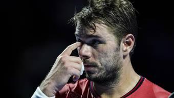 Stan Wawrinka tritt nicht gegen Roger Federer an.