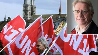 Markus Bischoff: «Für die soziale Gerechtigkeit gilt es weiterhin zu kämpfen, auch gegen Ausgrenzung, sowohl in der Schweiz wie auch international.»