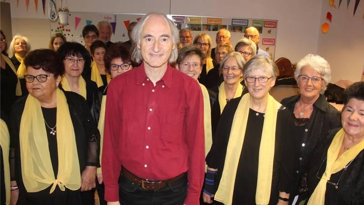 Werner Horisberger leitet den Gemischten Chor seit nunmehr drei Jahrzehnten.