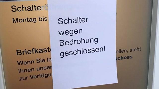 Wegen Drohung: Arbeitslosenkasse in Baden geschlossen