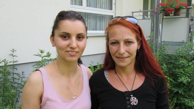 Arjeta Leka und Denise Hunziker