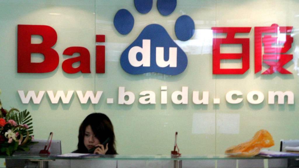 Die chinesische Suchmaschine Baidu leidet unter weniger Einnahmen bei den Werbeanzeigen. (Archivbild)