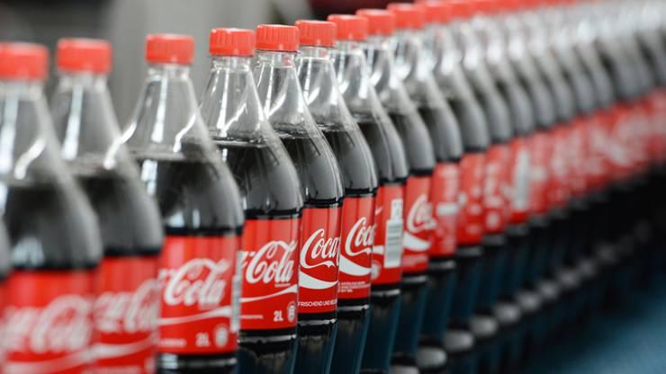 1. Coca-Cola: 35-45 Milliarden Dollar.