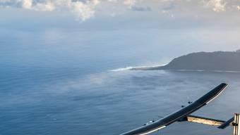 """Die Atlantiküberquerung der """"Solar Impulse 2"""" kommt wunschgemäss voran. Einzig über den Azoren musste Pilot Bertrand Piccard mit einigen Turbulenzen kämpfen. (Twitter-Account Team Solar Impulse)"""