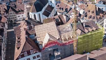 Ganz wie früher: Die Giebelstadt bekommt ihren verlorenen Holz-Giebel zurück.