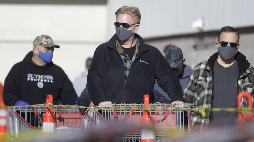 Universität: Bereits mehr als 10'000 Coronavirus-Tote in den USA