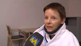 Ein Auto rammte am Montag in Olten einen Marktstand. Nun erzählen die Opfer im TeleM1.